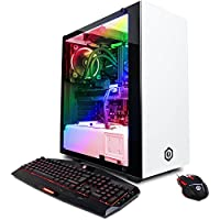 CYBERPOWERPC Gamer Supreme Liquid Cool SLC8820CPG Gaming PC (Intel i7-8700K 3.7GHz, 32GB DDR4, NVIDIA GeForce GTX 1080 8GB, 480GB SSD+3TB HDD, WiFi & Win10 Home) White