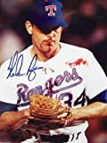 Nolan Ryan reprint 8 x10 Photo Texas Rangers - Bloody Lip