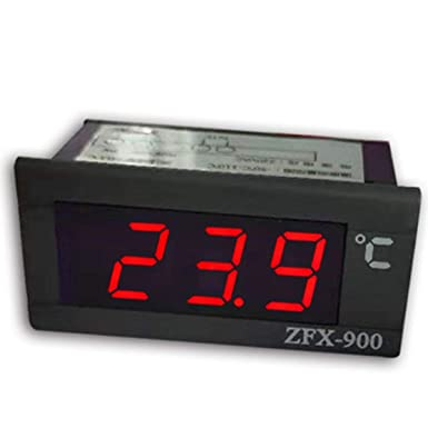 ZFX-900 Pantalla LED Termómetro digital Monitor de temperatura LED ...