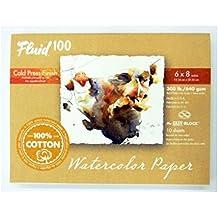 Handbook Paper Fluid 100 Watercolor Cp 300Lb Ez-Block 6X8