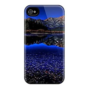 ConnieJCole Fashion Protective Stunning Blue Reflection Case Cover For Iphone 4/4s