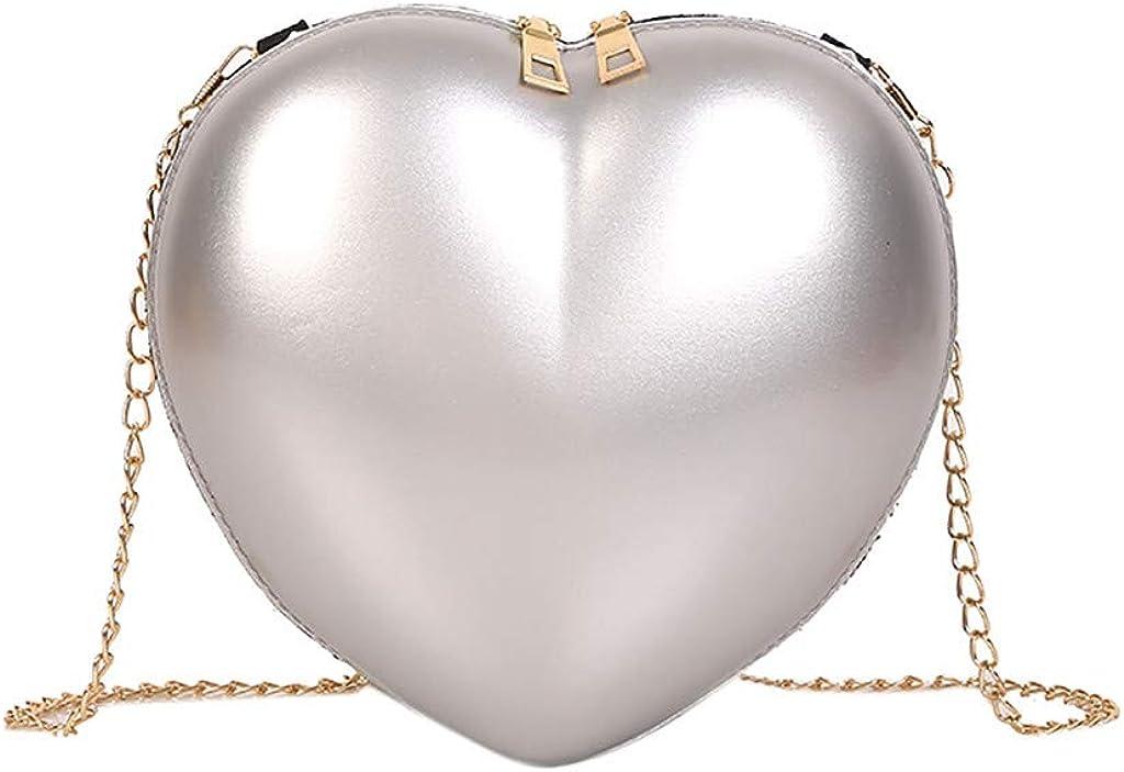 Holywin Sac /à bandouli/ère en forme de coeur pour femme Mode simple Sac d/épaule