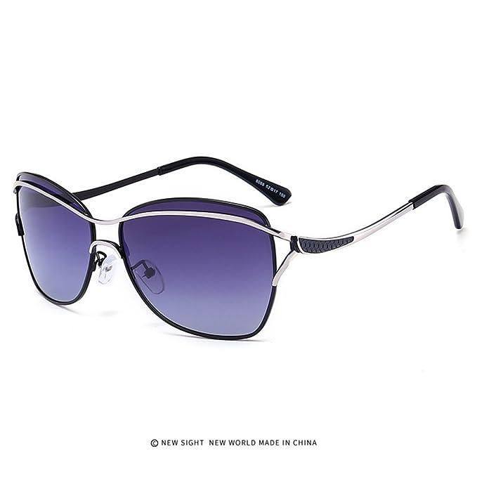 Gafas de sol polarizadas Gafas de sol Frame Mirror Gafas de mujer Gafas de sol Fashion Protección UV400: Amazon.es: Ropa y accesorios