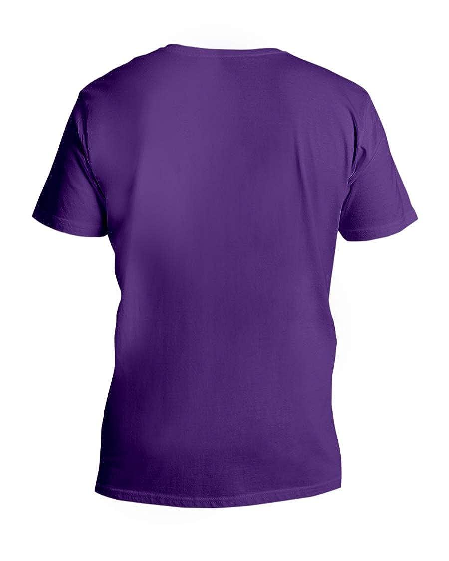 Sheri Fays SFS Taste Bud Crete V-Neck T-Shirt Team Purple S