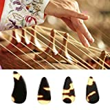 Chinese Zither Guzheng Practice Professional Artificial Faux Fingernails Tips M