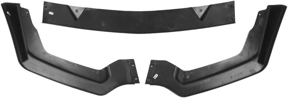 KIMISS Front Bumper Lip Spoiler Diffusers Body Shovels Protector Fits for Q50 2014-2017