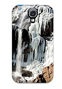 Galaxy Cover Case - Waterfall Earth Nature Waterfall Protective Case Compatibel With Galaxy S4