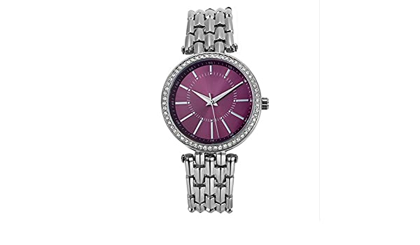 GAOY Watch Relojes Señora Reloj De Moda A Prueba De Agua Diamante Brillante Cuarzo Analógico Delgado Reloj De Acero,H: Amazon.es: Electrónica
