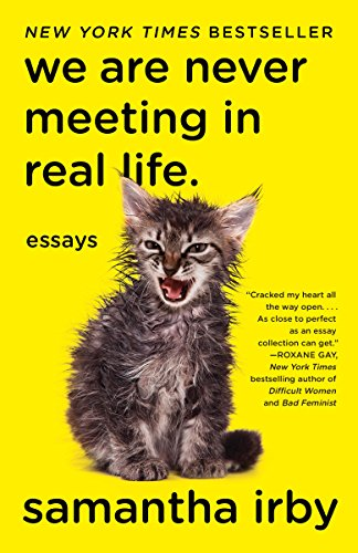Book Cover: We are Never Meeting in Real Life by Samantha Irby