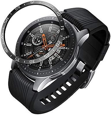 For Samsung Galaxy Smartwatch 46 mm Bezel Ring: Amazon.es ...