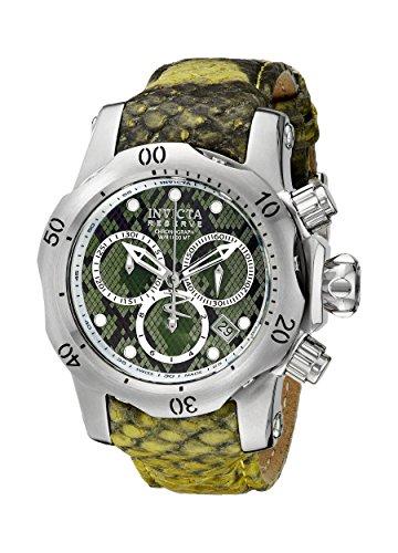 Invicta Women's 18310 Venom Analog Display Swiss Quartz Green Watch