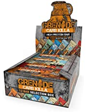Grenade Carb Killa High Protein and Low Carb Bar, 12 x 60g - Selection Box