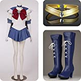Sailor Moon Sailor Saturn Tomoe Hotaru Costumes Set for Cosplay