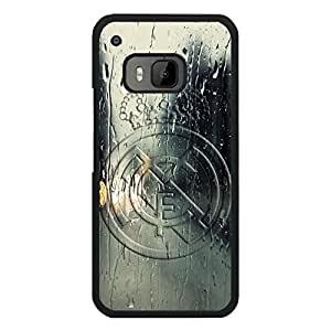 Blazing Htc One M9 Case Cover,FC Real Madrid Club de Futbol Logo Mobile Case Popular Plastic Pattern