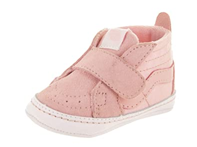 2c503ab6e76ab9 Vans Infants Sk8-Hi Crib Chalk Pink True White Slip-On Shoe 1