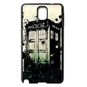Unique Phone Case Pattern 7TV Show Doctor Who - The Police Box- For Samsung Galaxy NOTE3 Case Cover