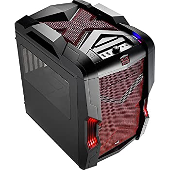 Image of AeroCool StrikeX Cube-RED Case Computer Cases