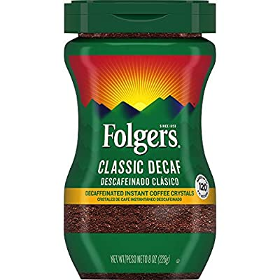 Folgers Classic Decaf Instant Coffee from Folgers