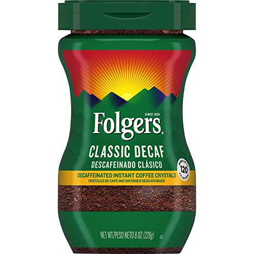 Folgers Instant Decaf Crystals