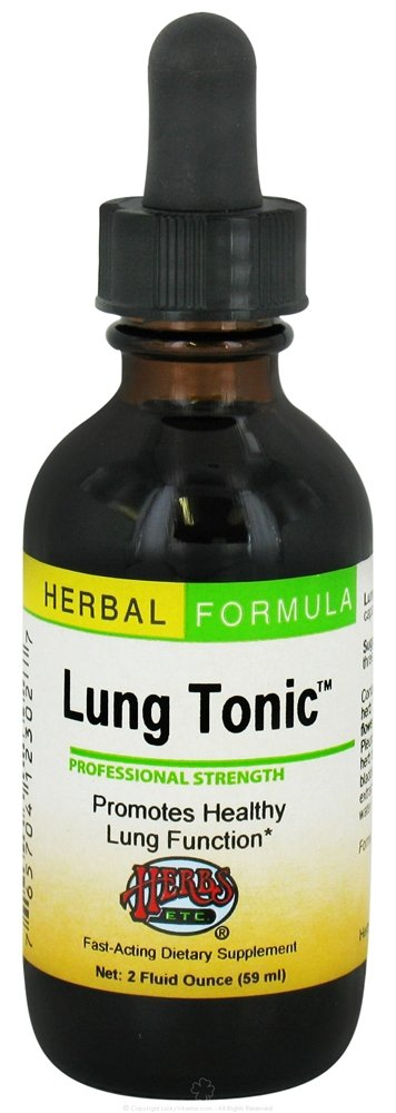 Herbs Etc - Lung Tonic Professional Strength - 2 oz.