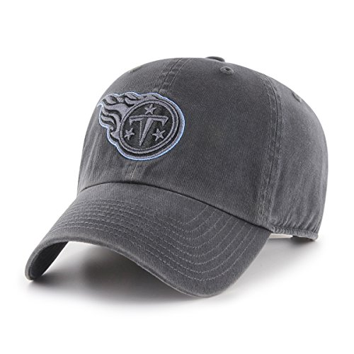 NFL Tennessee Titans Men's OTS Challenger Adjustable Hat, Dark Charcoal, One Size