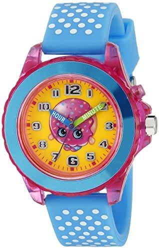 Shopkins Kids' KIN9002 Analog Display Quartz Blue Watch