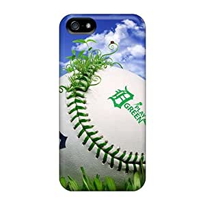 Sanp On Cases Covers Protector For Iphone 5/5s (sports Baseball Detroit Tigers)