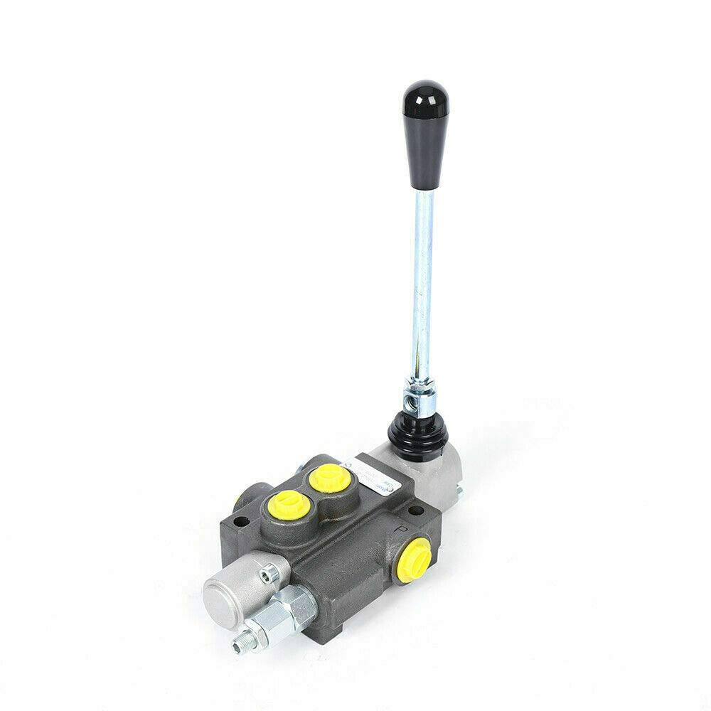 11GPM 40L//min 3600PSI P40 Hydraulic Directional Control Valve 1 Spool Adjustable Pressure Tractor Loaders Control Valve for Engineering Agricultural Machinery