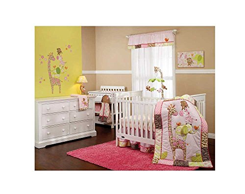 Carter's ''Jungle Collection'' 7 Piece Crib Set by Crown Crafts