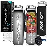 Pulse Best Sports Water Bottle (Black)