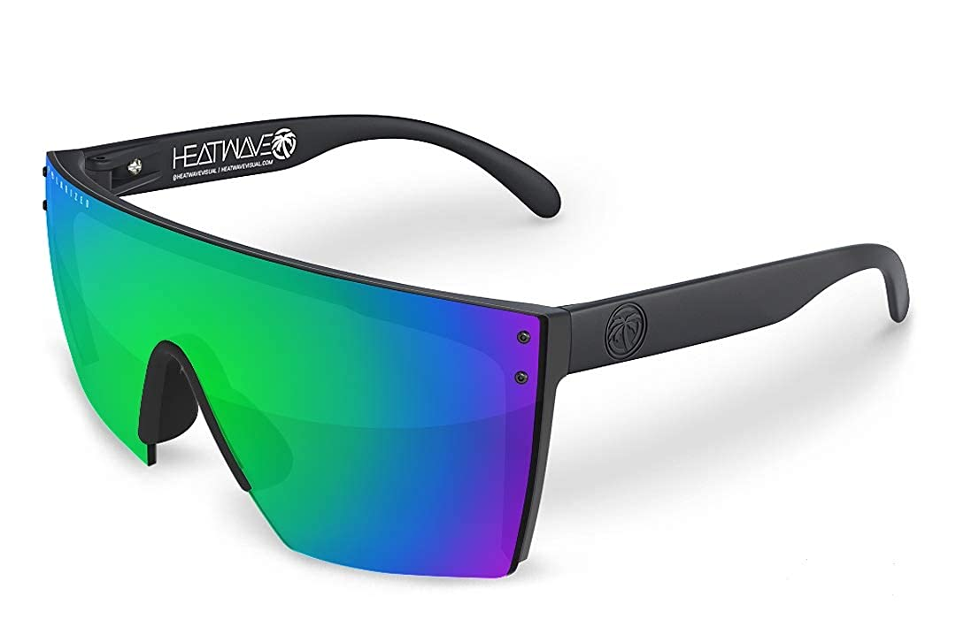 Heat Wave Visual Lazer Face Polarized Sunglasses