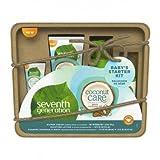 Seventh Generation Coconut Care Travel Size Gift Set (diaper Cream, Moisture Lotion, Foaming Shampoo & Wash), 1 Count
