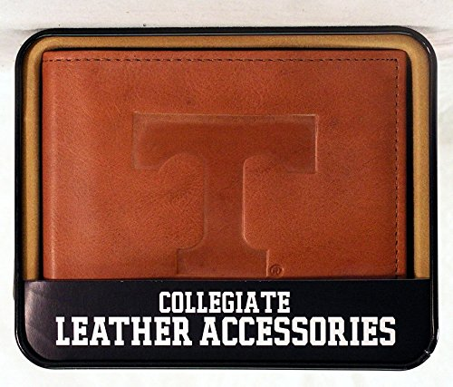 (NCAA Tennessee Volunteers Embossed Leather Billfold Wallet)