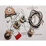 Amazon.com: Fender Stratocaster Strat 5-way Wiring Kit - CRL ... on les paul guitar wiring, telecaster wiring, guitar pickup wiring, strat plus wiring, 5-way strat switch wiring, humbucker wiring, fat strat wiring, stock strat wiring, custom wiring, strat pickguard wiring, vox ac30 wiring, atlas model railroad wiring, gibson wiring, dimarzio wiring, epiphone les paul wiring, twin reverb wiring, electric guitar wiring, lionel track wiring, mim strat wiring, fender wiring,