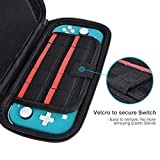 Nintendo Switch Lite Case with 2 Pack Screen