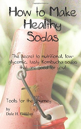 How to Make Healthy Sodas: The secret to nutritional, low-glycemic, tasty Kombucha sodas that are good for you! by Dale H Gillilan