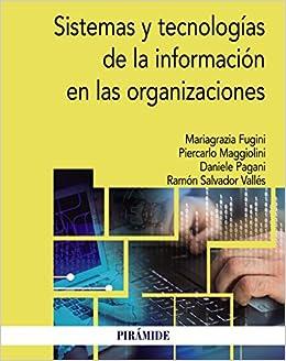 Sistemas Y Tecnologías De La Información En Las Organizaciones Epub Descarga gratuita