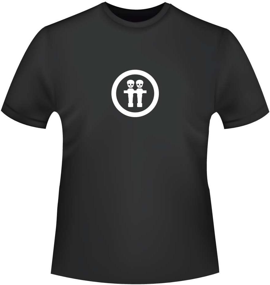 Futbolín de calavera, para hombre T-Shirt - Comercio justo ID ...