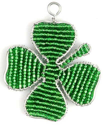 Grass Beadworx (Set of 3 - Four Leaf Clover Keychain)