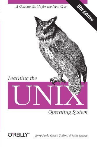 A Concise Guide for the New User Learning the Unix Operating System