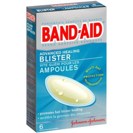 Band-Aid Advanced Healing Blister Cushions Adhesive Bandages, Special 2 Pack ( 12 Count Total ) Band Aid Advanced Healing Blister Cushions