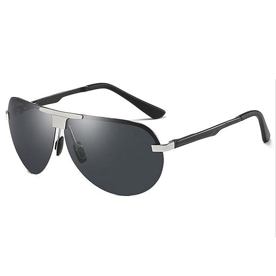 GAOLIXIA Unisexe Polarized affaires conduite lunettes de soleil Fashion (Color : Yellow, Taille : One size)