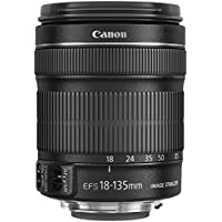 Canon EF-S 18-135mm f/3.5-5.6 IS STM Lens - Brand New in White Box, with 1-year Canon USA Warranty