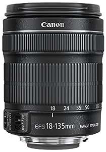 Canon 18-135 mm/F 3,5-5,6 EF-S IS STM - Objetivo para canon (distancia focal 29-216mm, estabilizador) color negro