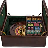 Bello Games Collezioni - Piazza San Lorenzo, Luxury Roulette Set Plated in 24K Gold from Italy.