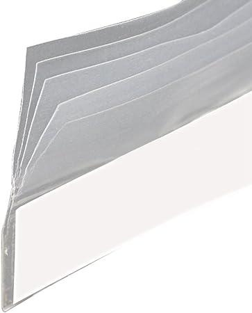 Lvguang Junta Adhesiva Transparente para Ventana para Sellar Burlete a Prueba de Polvo Aislamiento Acústico Longitud: 8m: Amazon.es: Hogar
