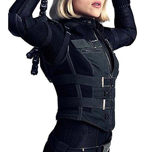 Vest War amp; Black Stylish Women's 100 Faux Leather Leather Vest Soft Geniune Jacket Johanson Real Infinity Slimfit amp; qTqxn48Pw
