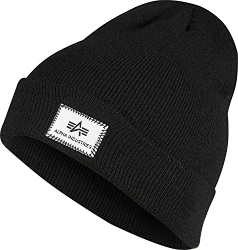 Industries Alpha negro Fit X Beanie AzxzPf