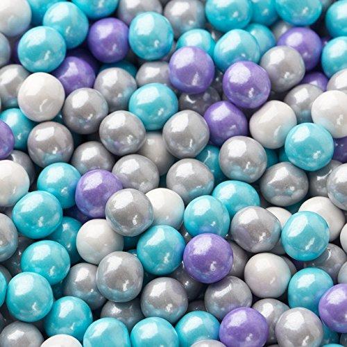 FirstChoiceCandy Sixlets Milk Chocolate Balls (Shimmer Princess Mix, 1 LB) ()