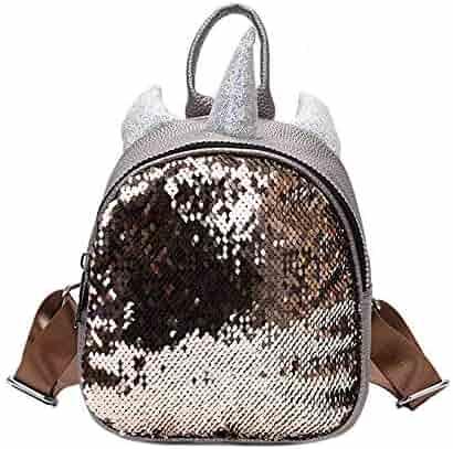 Sequin Backpack,Backpack for Girls Toddler backpack Fashion Backpack Women  Kids  Backpacks Cute Backpack f60fc82df5